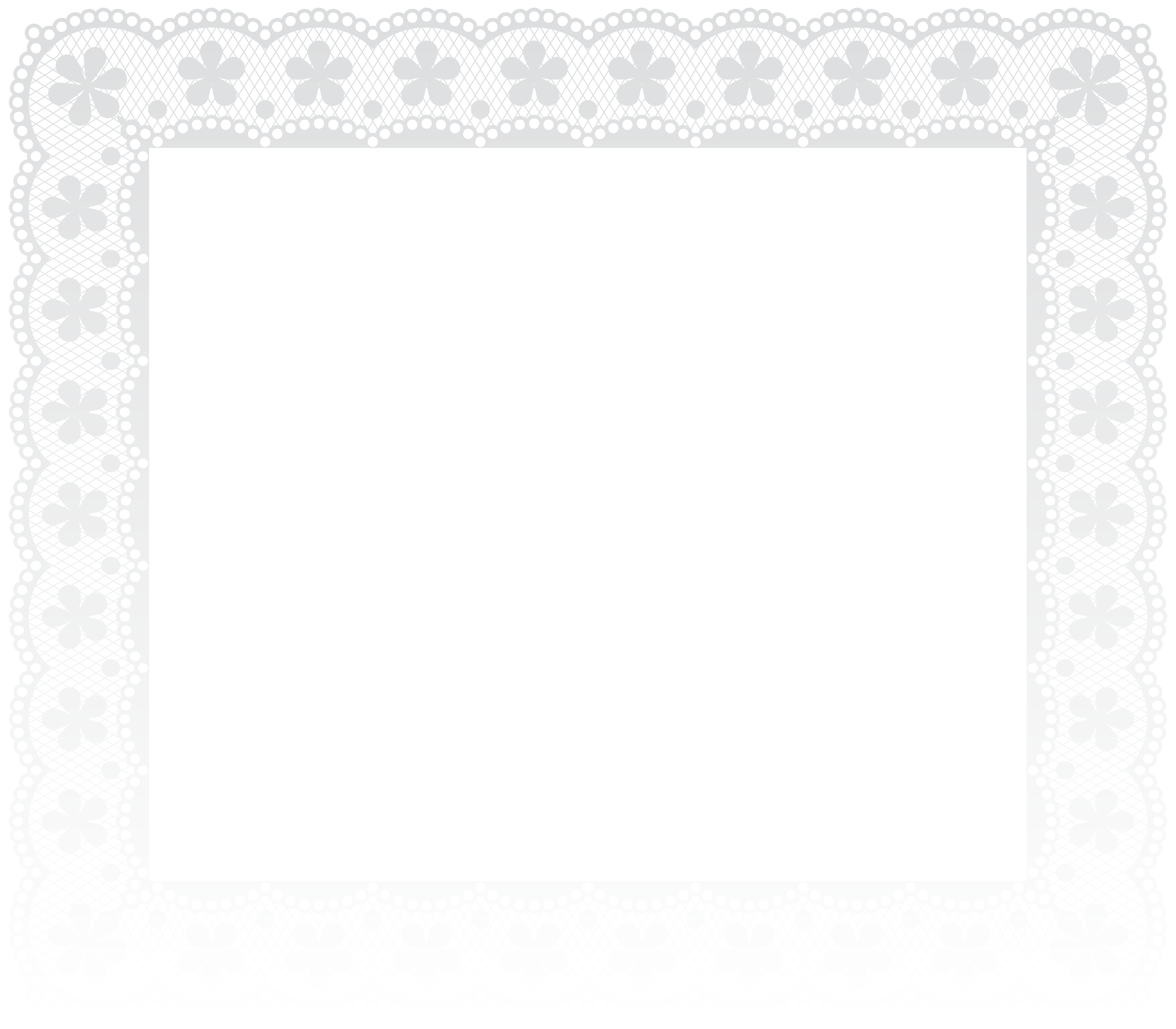 Lace clipart brown lace. Border frame png clip