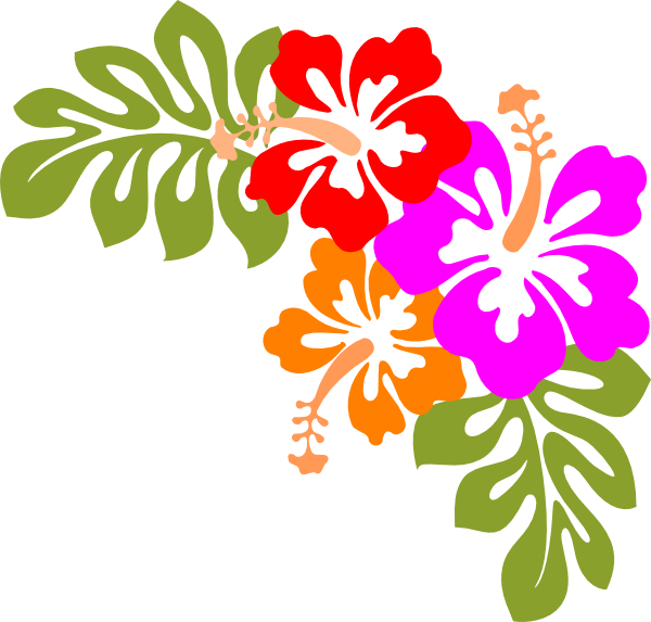Waves clipart kid. Hawaiian party digital art