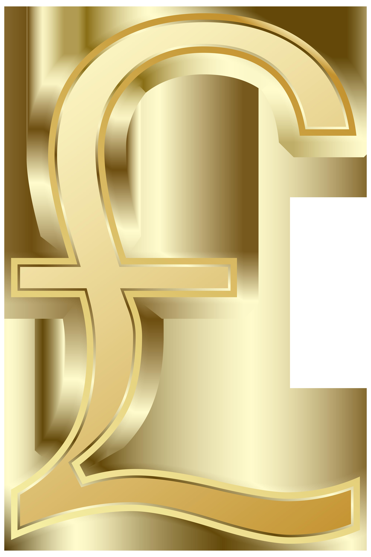 British pound symbol clip. Money clipart png
