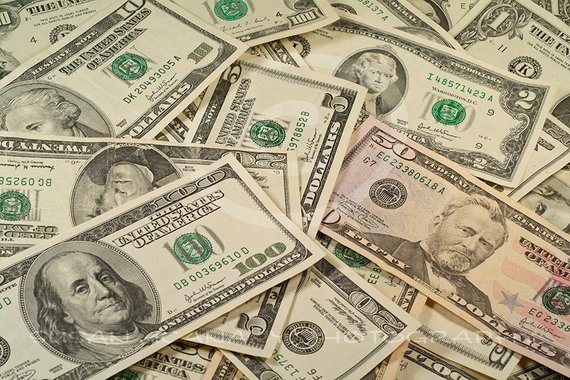Photo of money us. Dollar clipart banner