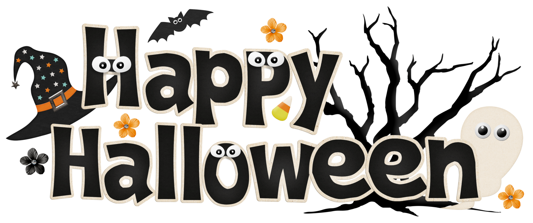 Clipart free halloween. Month of october images