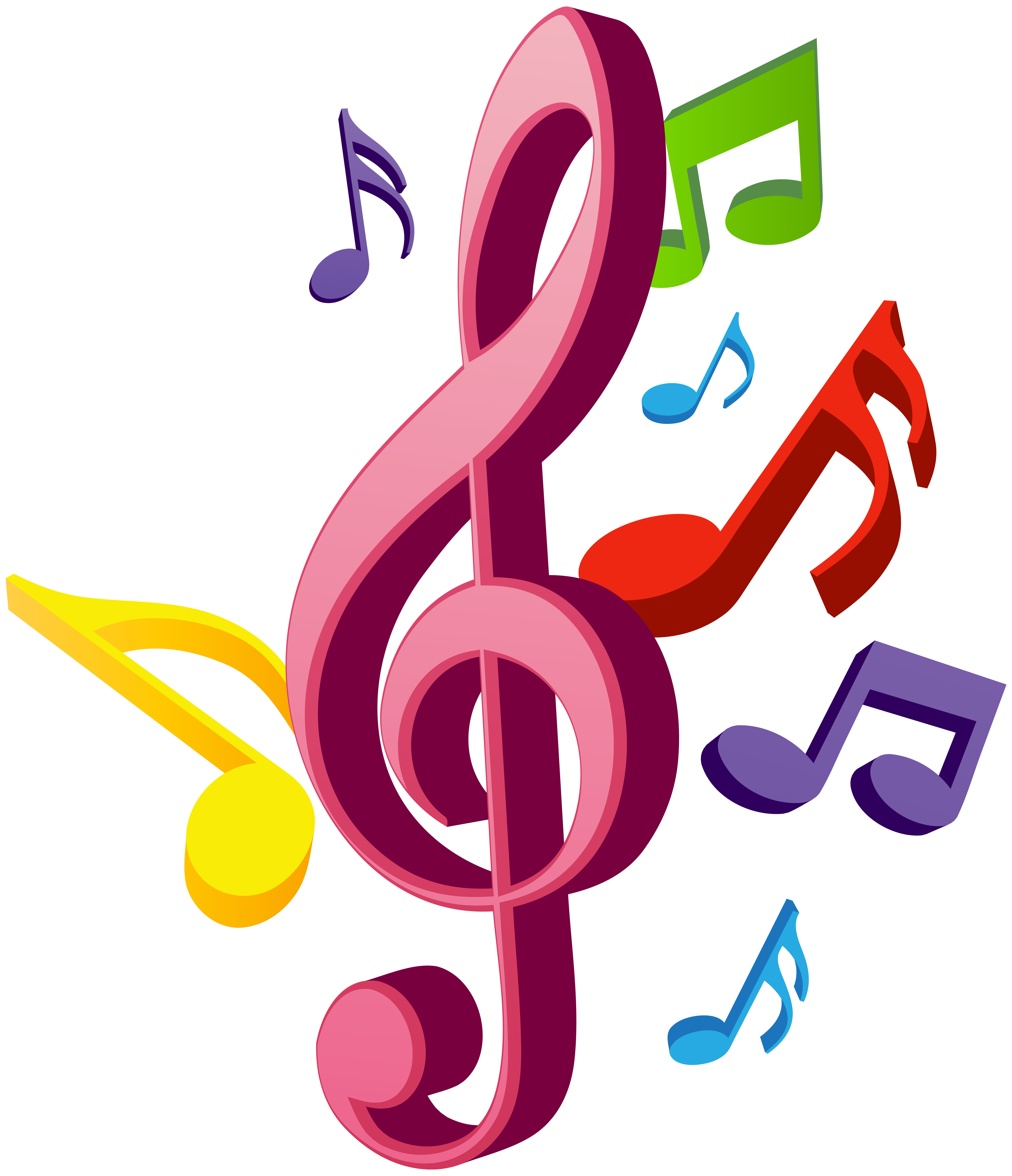 Music png clip art. Notes clipart dancing