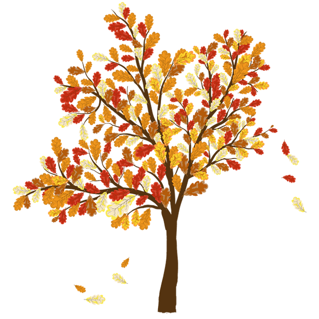 collection of high. Tree clipart november