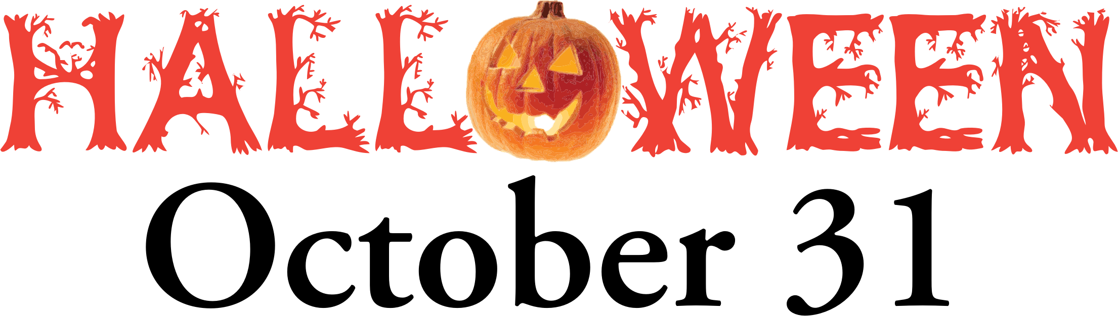 Big image png. Clipart halloween banner