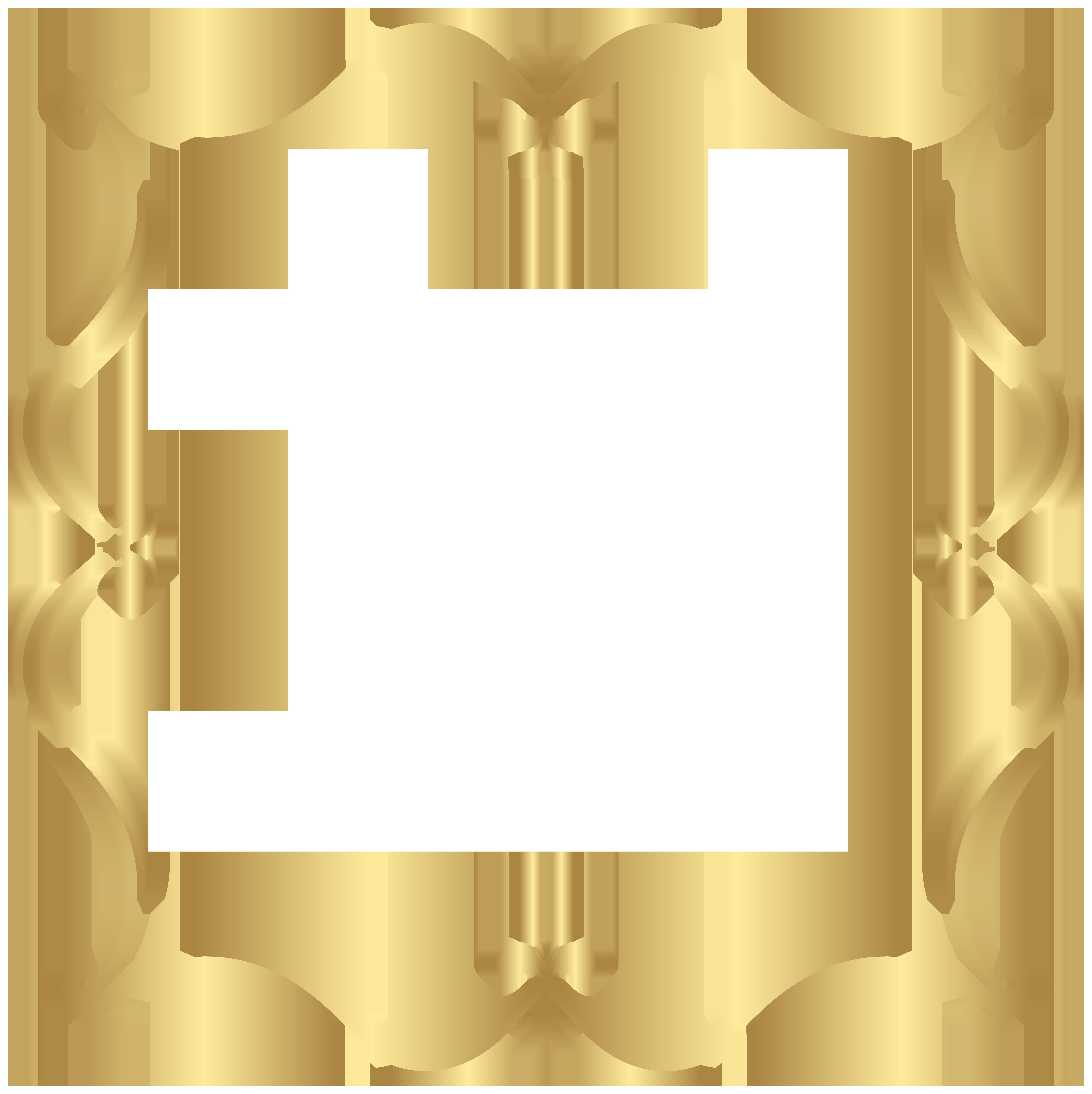 Gold png clip art. Hills clipart border