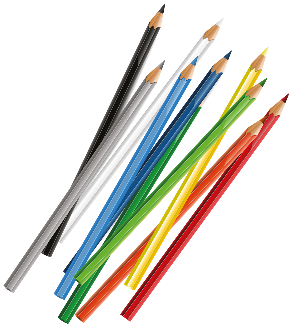 Transparent pencils png picture. Clipart pencil clear background