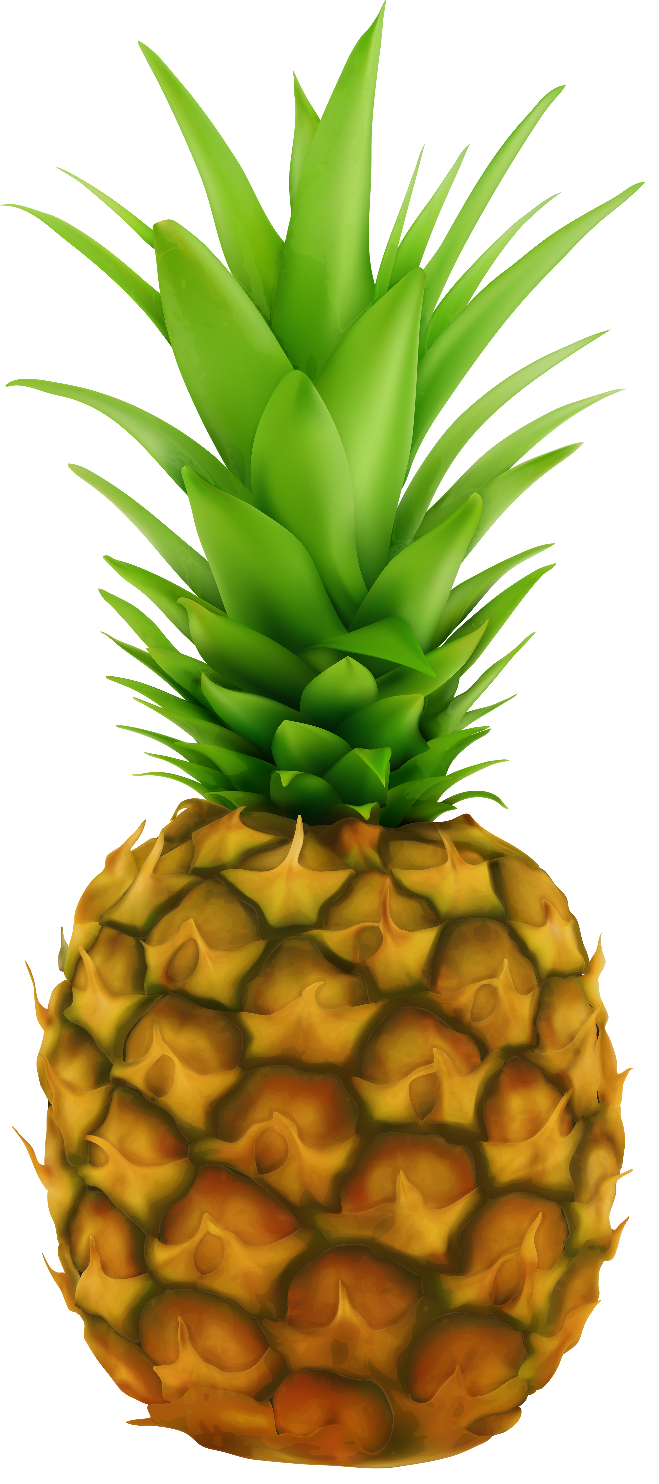 Pineapple clipart glitter. Transparent clip art image