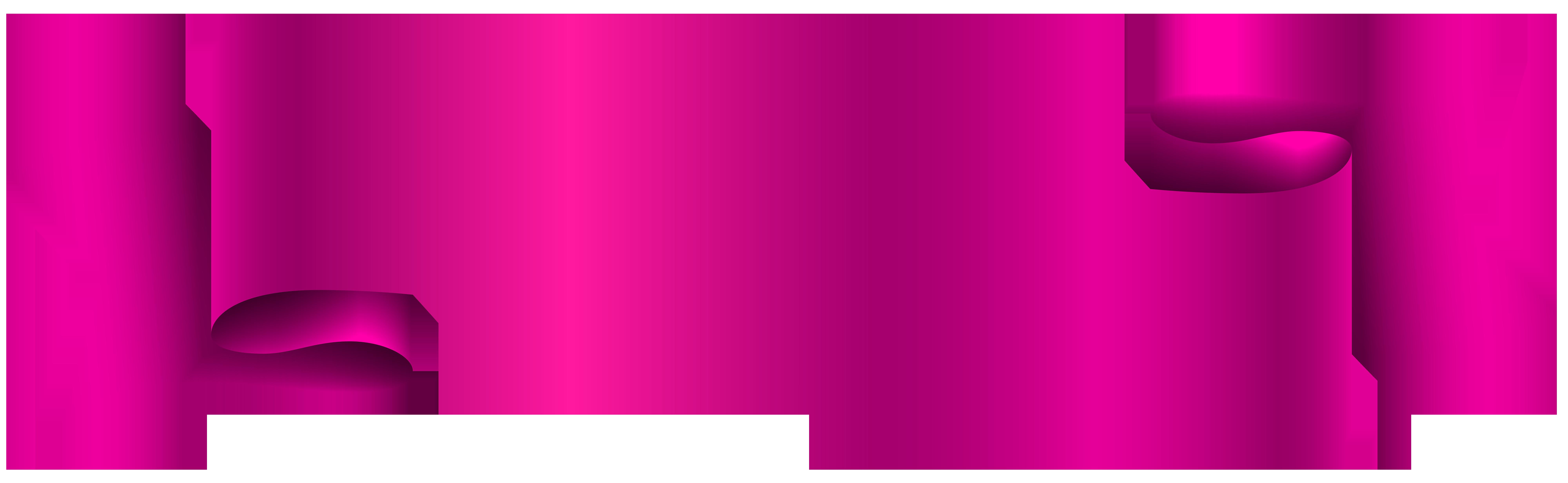 Pink transparent clip art. Banner png images