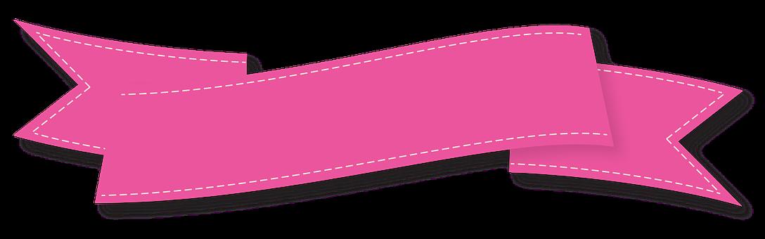Clipart banner pink ribbon. Pin by bruna rosa