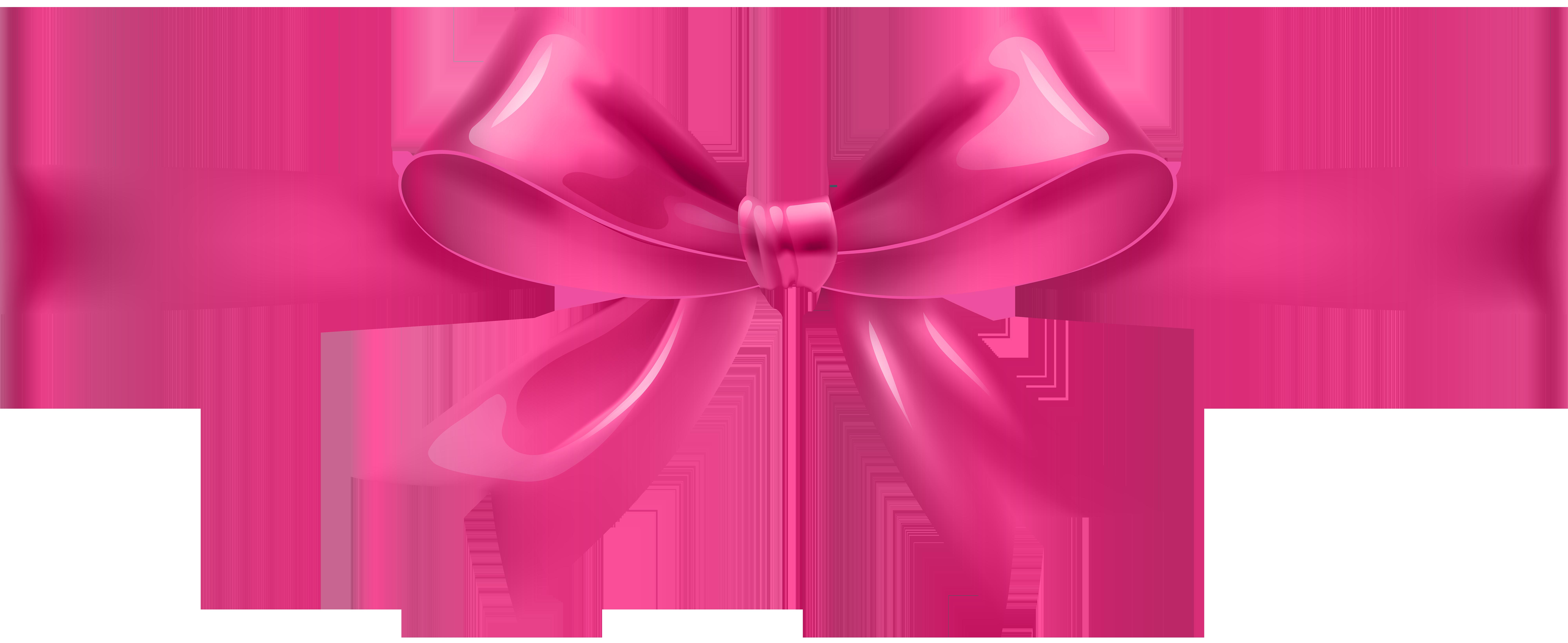 Transparent png clip art. Clipart bow pink