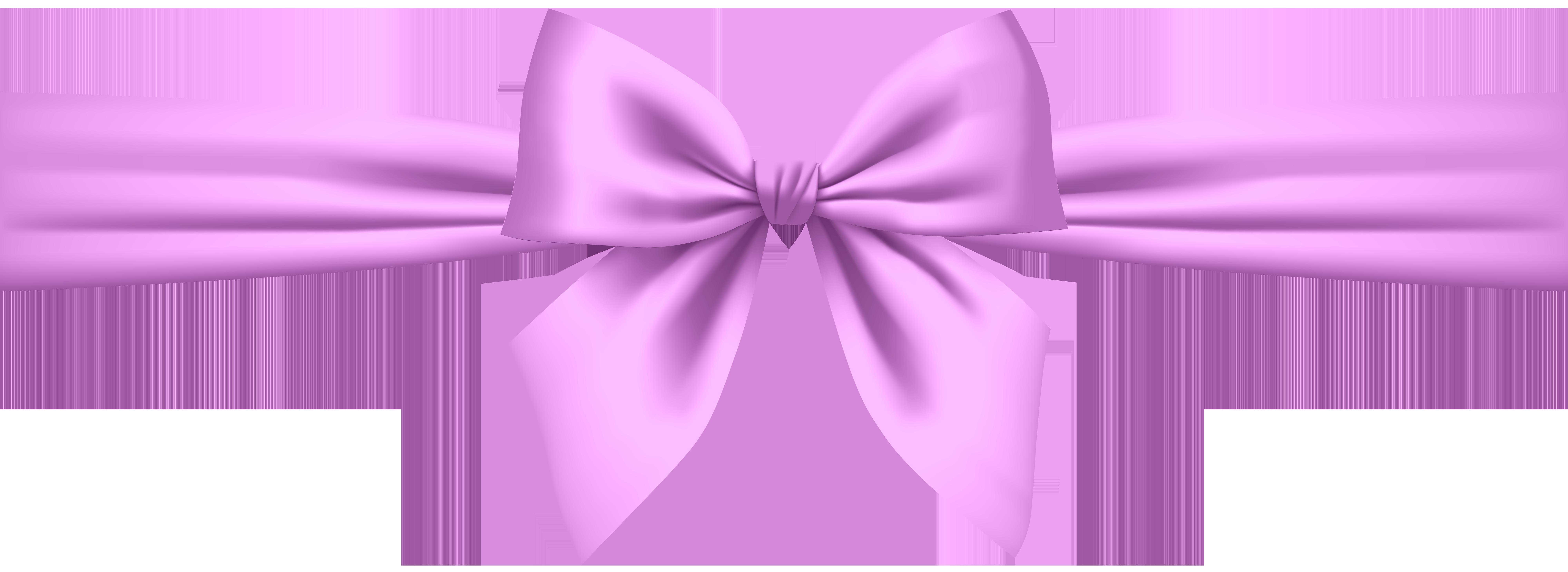 Pink bow png clip. Lavender clipart transparent background
