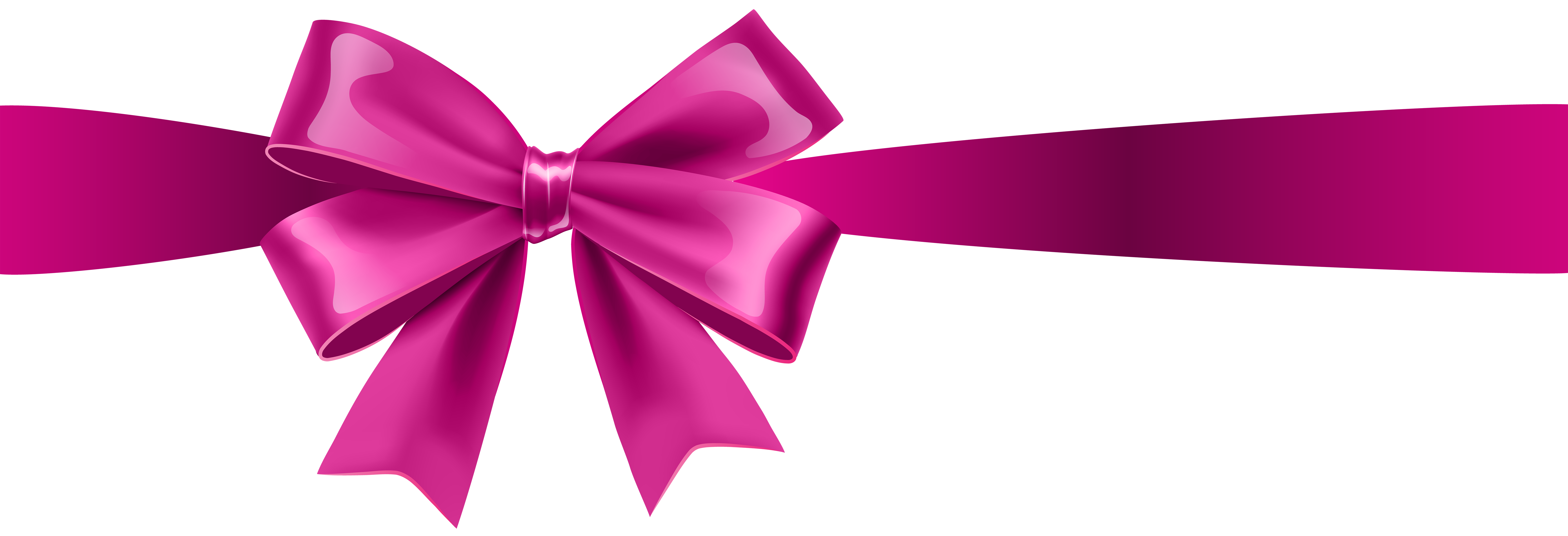 Clipart bow pink. Transparent clip art gallery