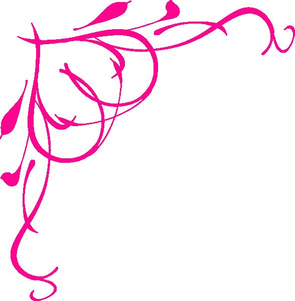Pink clipart bracket. Heart border clip art