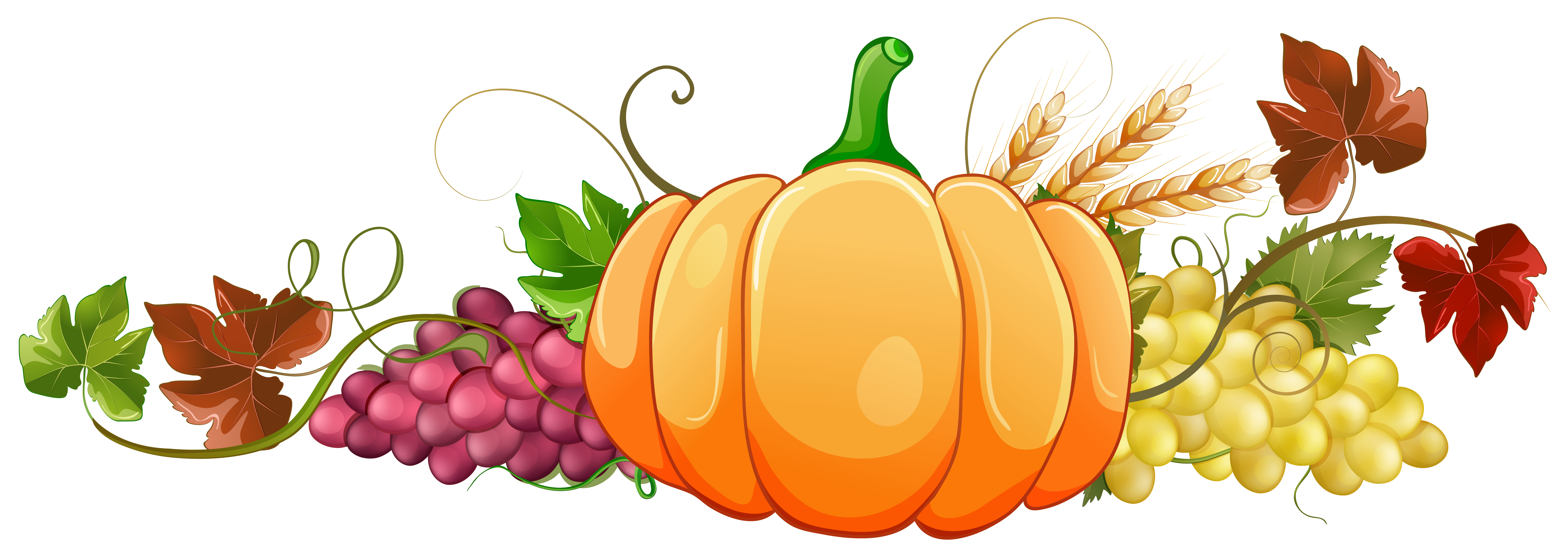 Pumpkin decor png image. Clipart sun autumn