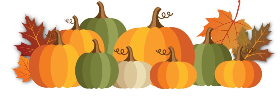 Pumpkin clipart banner. Halloween jack o lantern