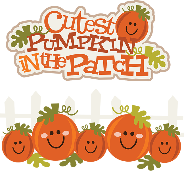 Cutest in the svg. Halloween clipart pumpkin patch