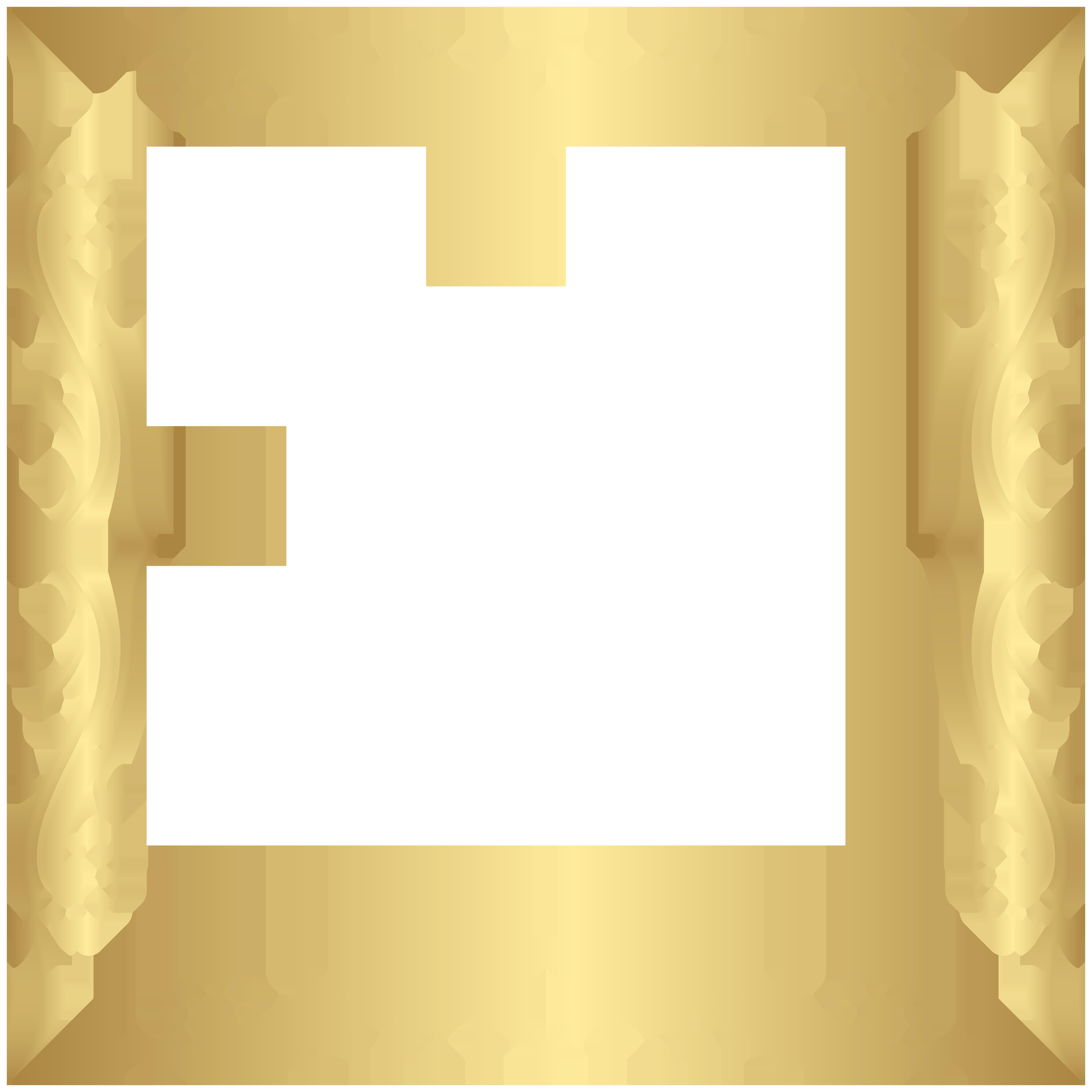 Clipart gallery visual art. Decorative border frame transparent