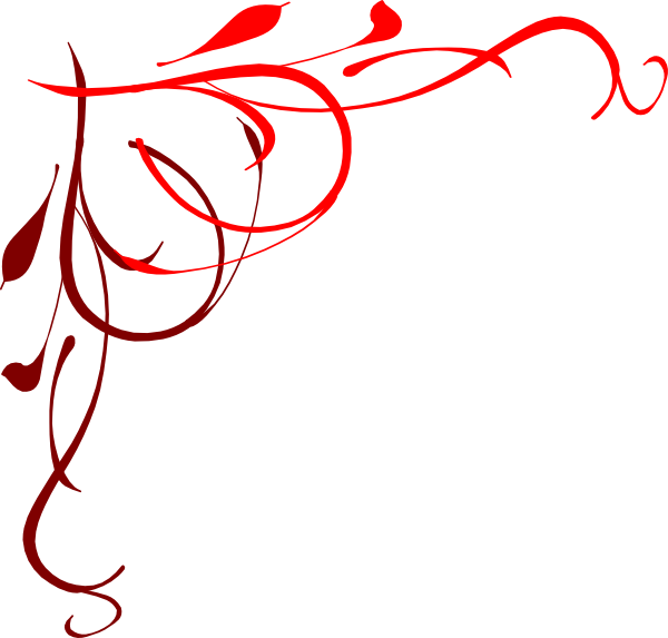Scroll clipart curly cue. Free red flourish cliparts