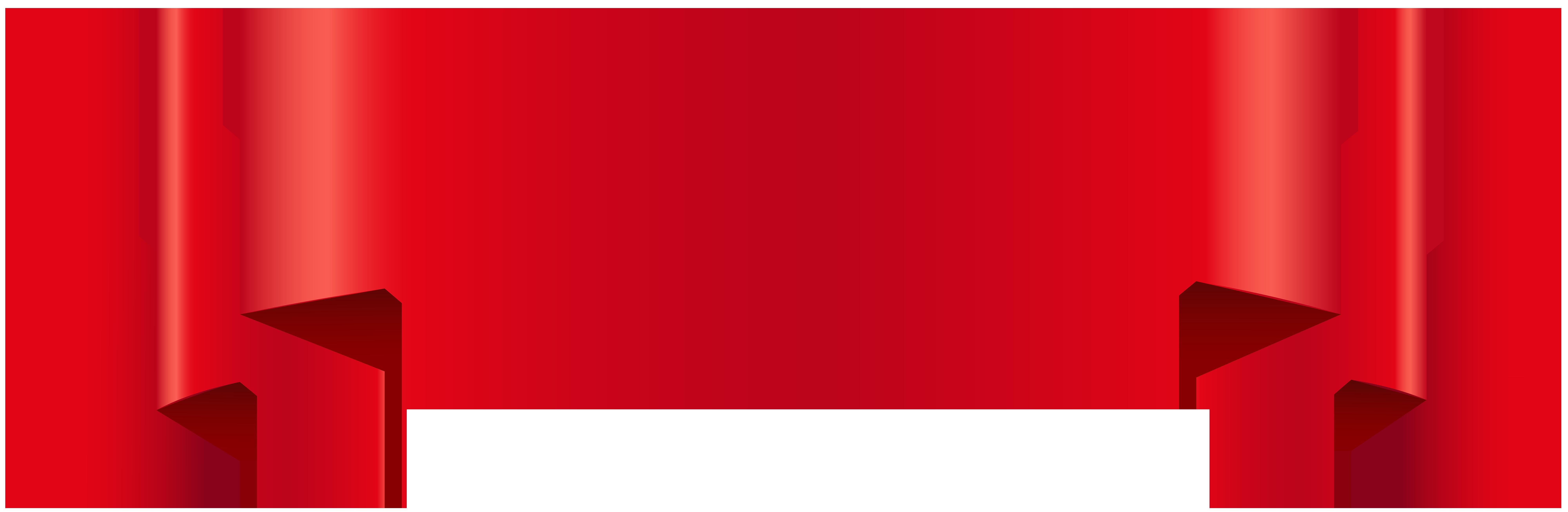 Label clipart red. Banner transparent clip art