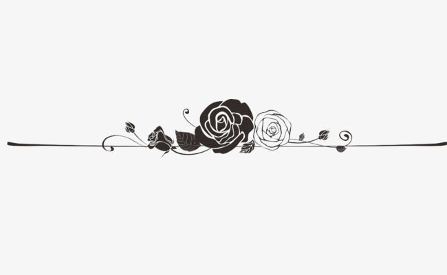 Clipart roses banner. Decoration frame rose diy