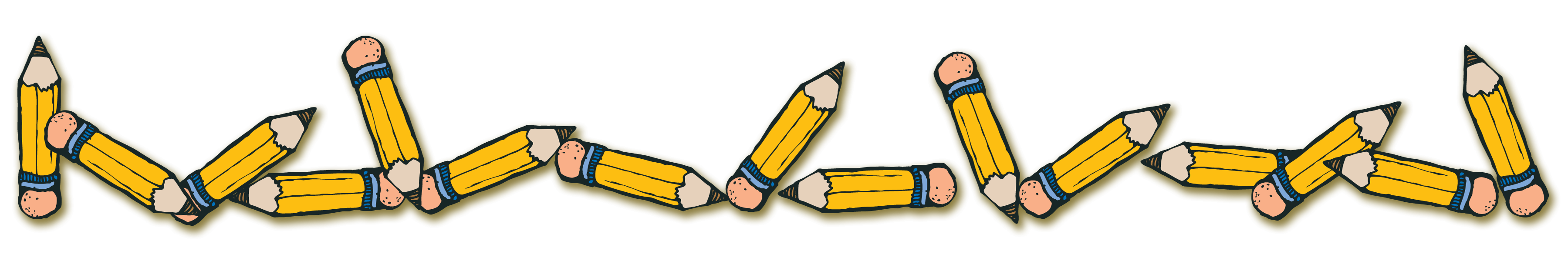collection of school. College clipart banner
