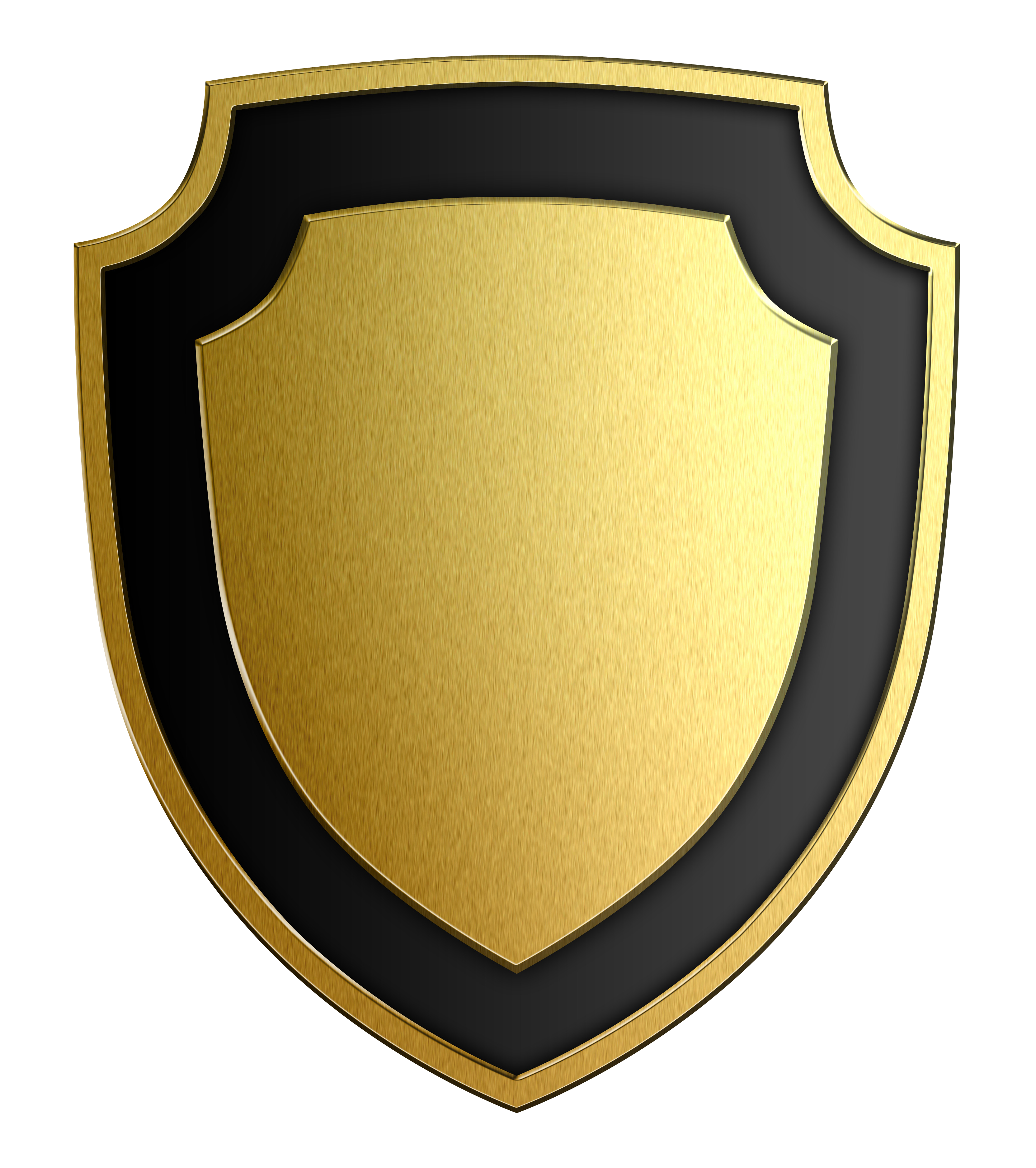 Clipart shield grunge. Five isolated stock photo