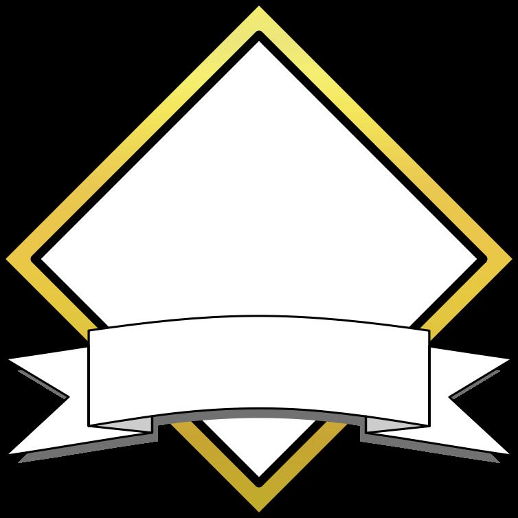 Triangular clipart banner. Diamond medium image png