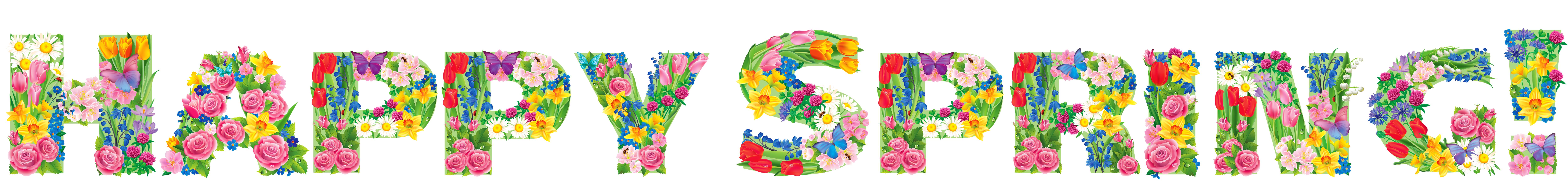 Transparent png picture gallery. Clipart happy spring
