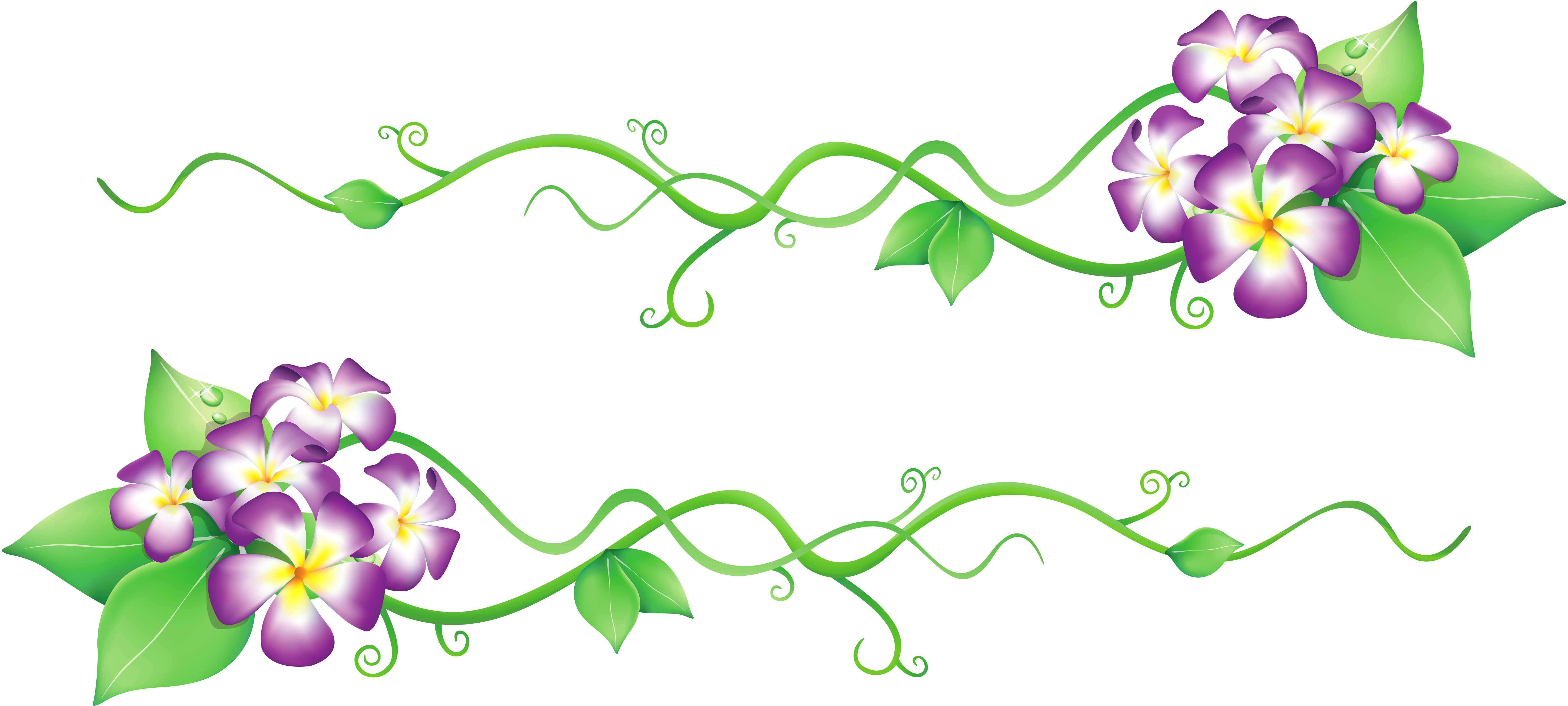 Flowers decor png gallery. Floral clipart spring