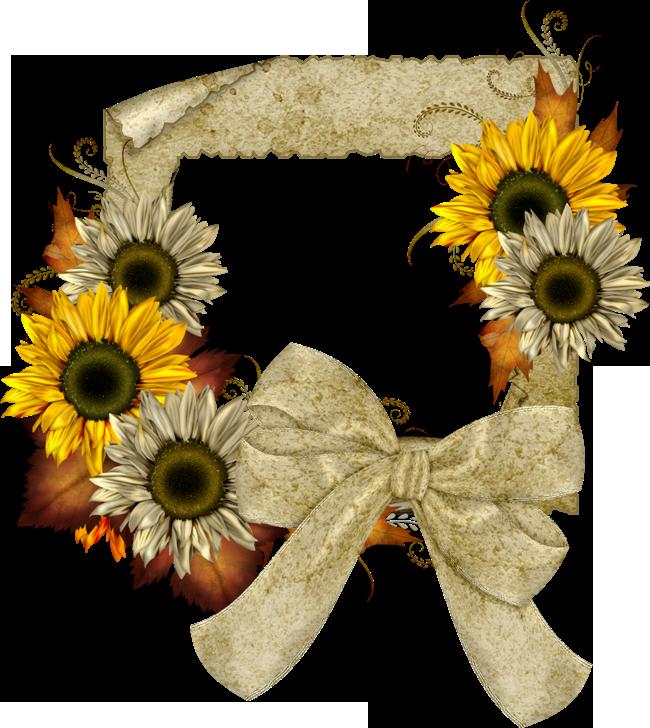 Clipart banner sunflower, Clipart banner sunflower ...
