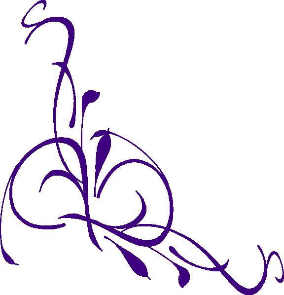 Swirl panda free images. Filigree clipart purple