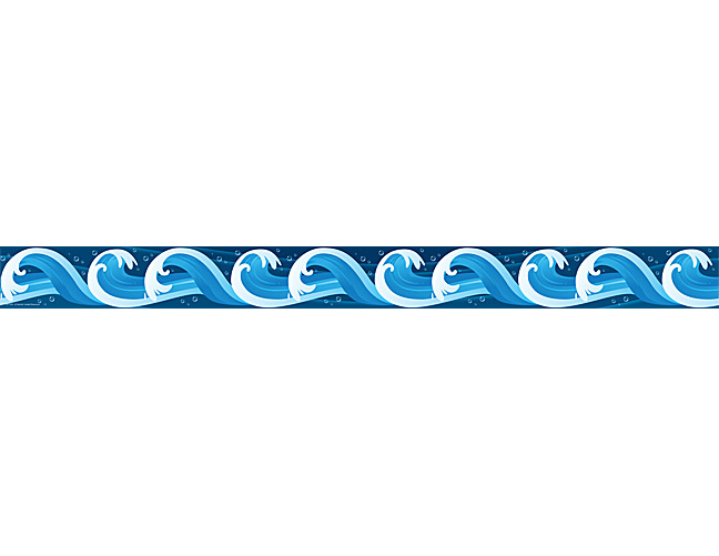 Free wave cliparts download. Clipart waves border