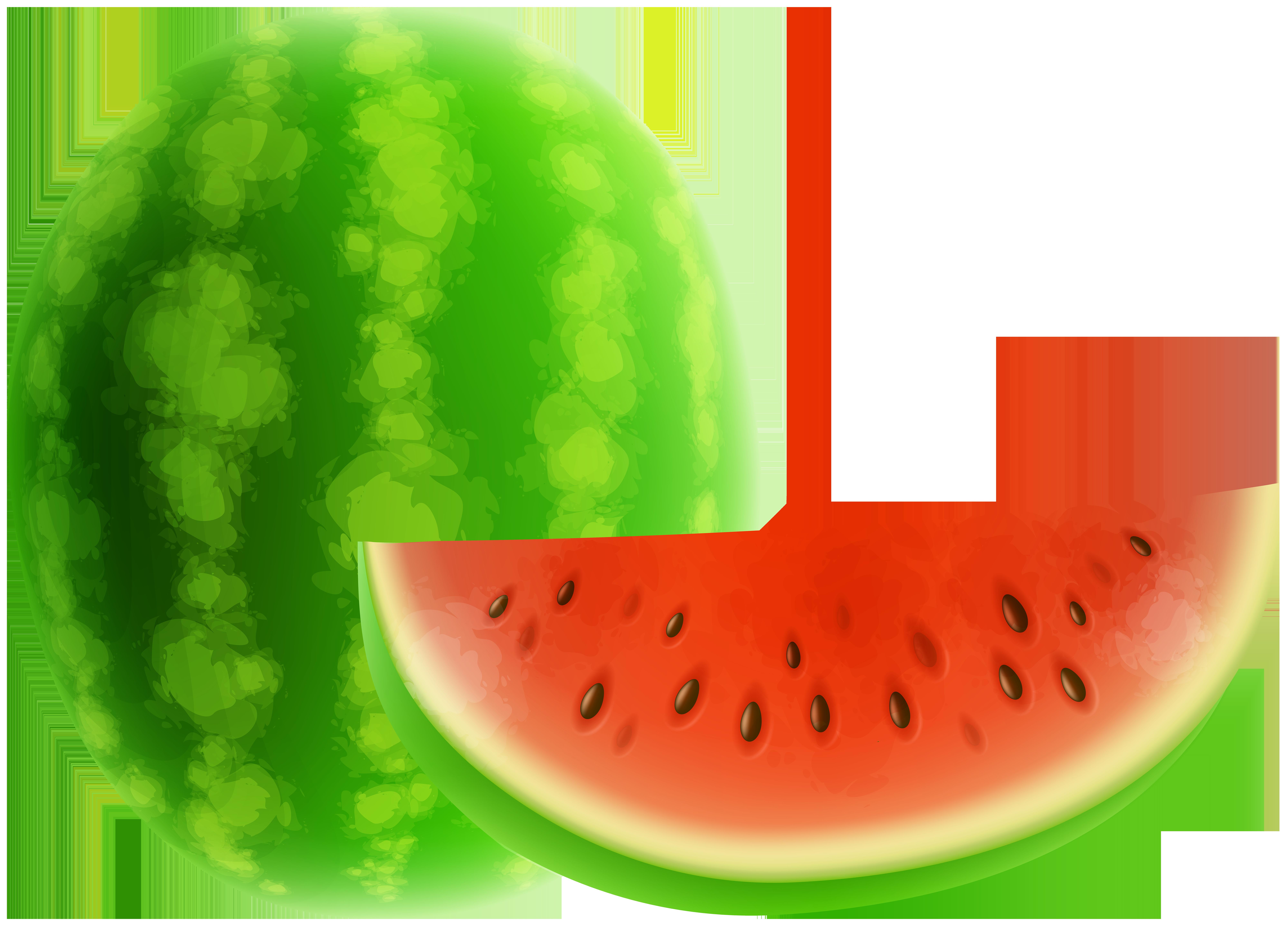 Watermelon clipart muskmelon. Png clip art gallery