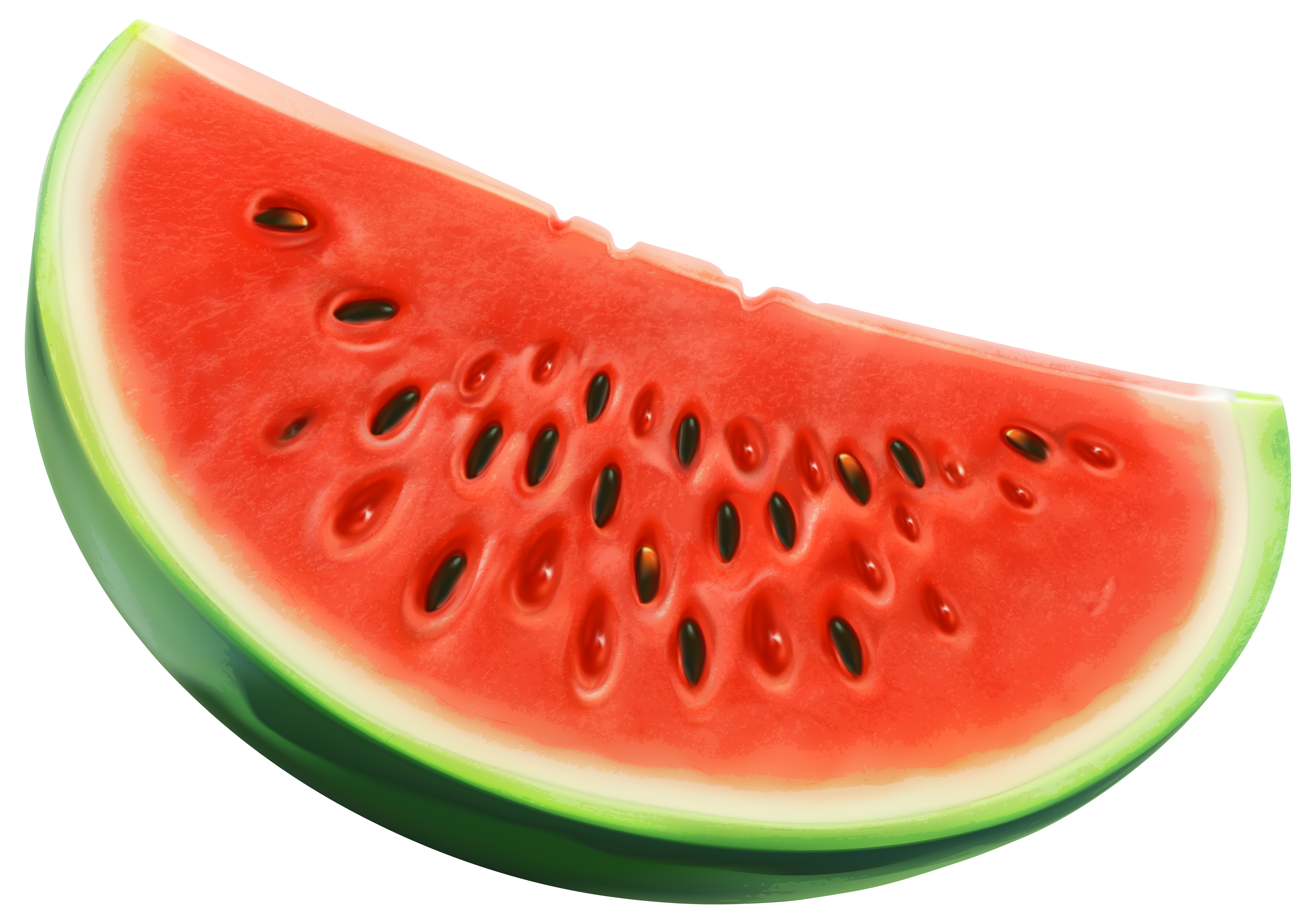 Piece of png image. Watermelon clipart transparent background
