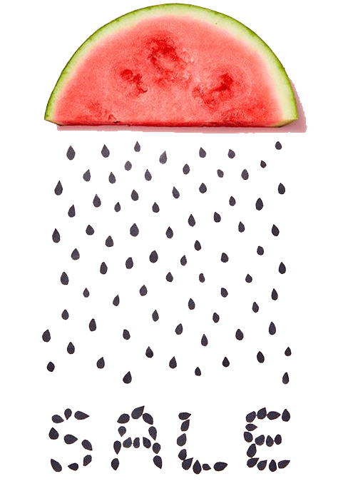 Watermelon clipart apple seed. Sales web banner animation
