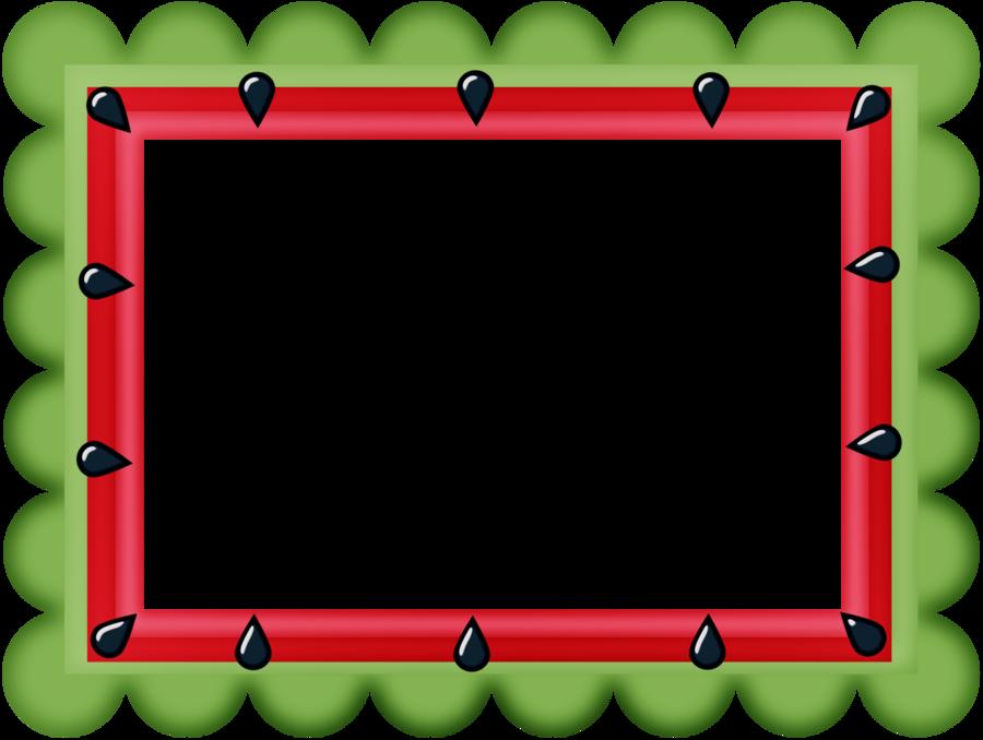 Watermelon clipart banner. Minus say hello frames