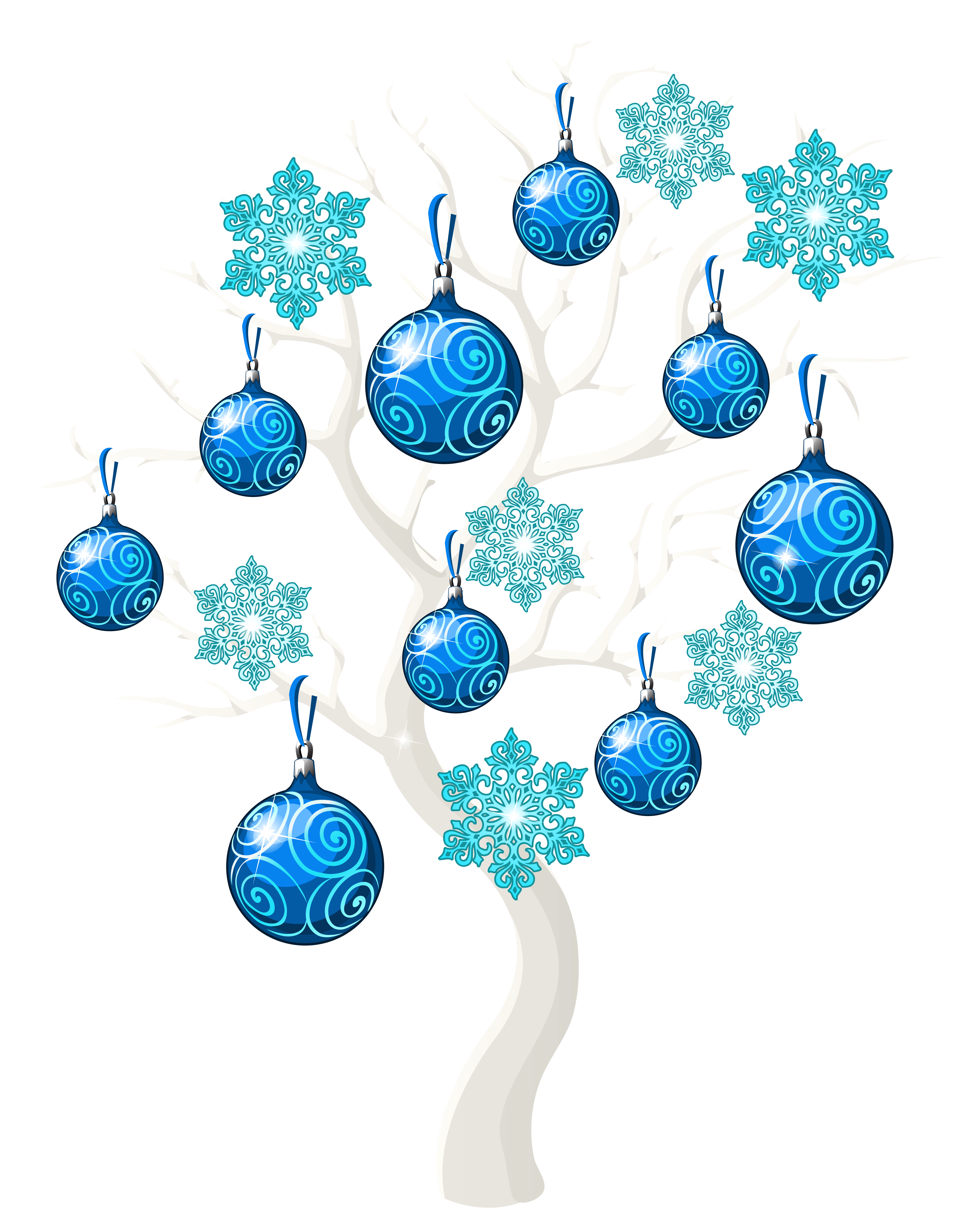 Tree clipart blue. Winter christmas png clip