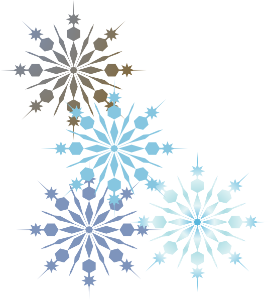 Winter clipart divider.  collection of border