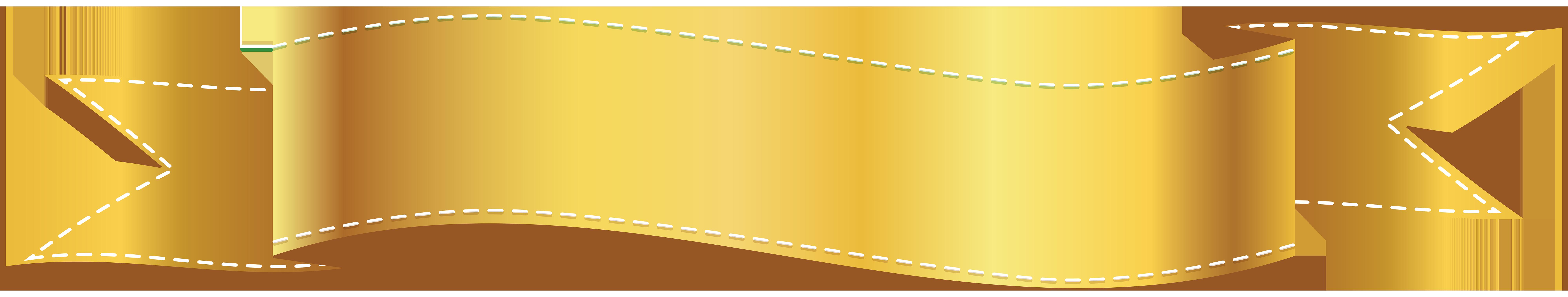 Golden banner png clip. E clipart gold