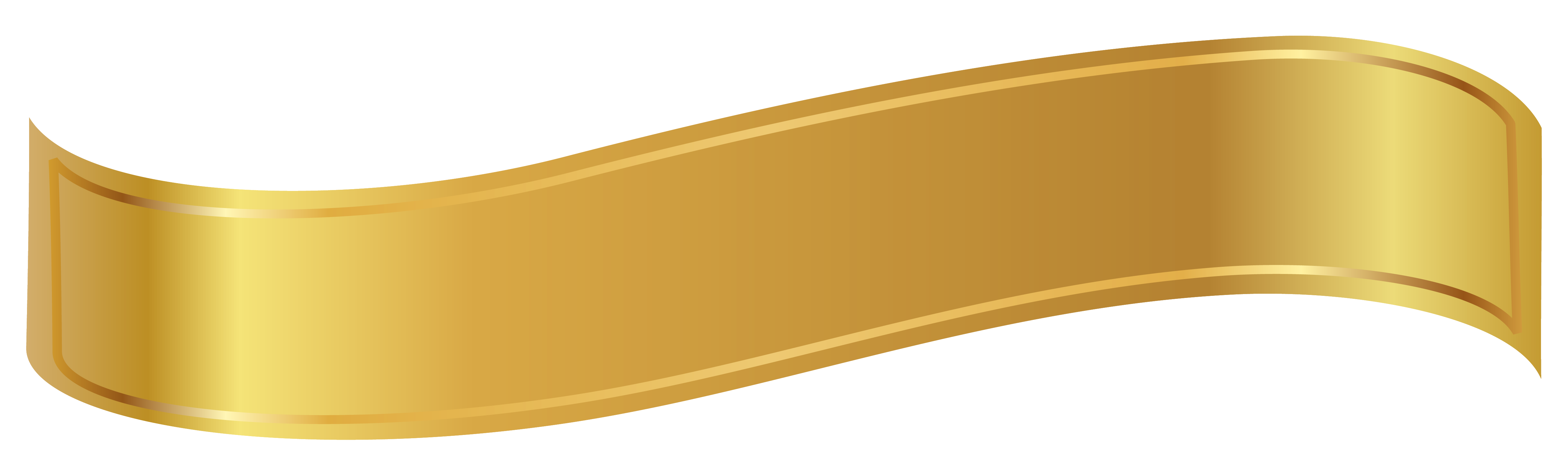 Scroll clipart gold. Banner png image banners