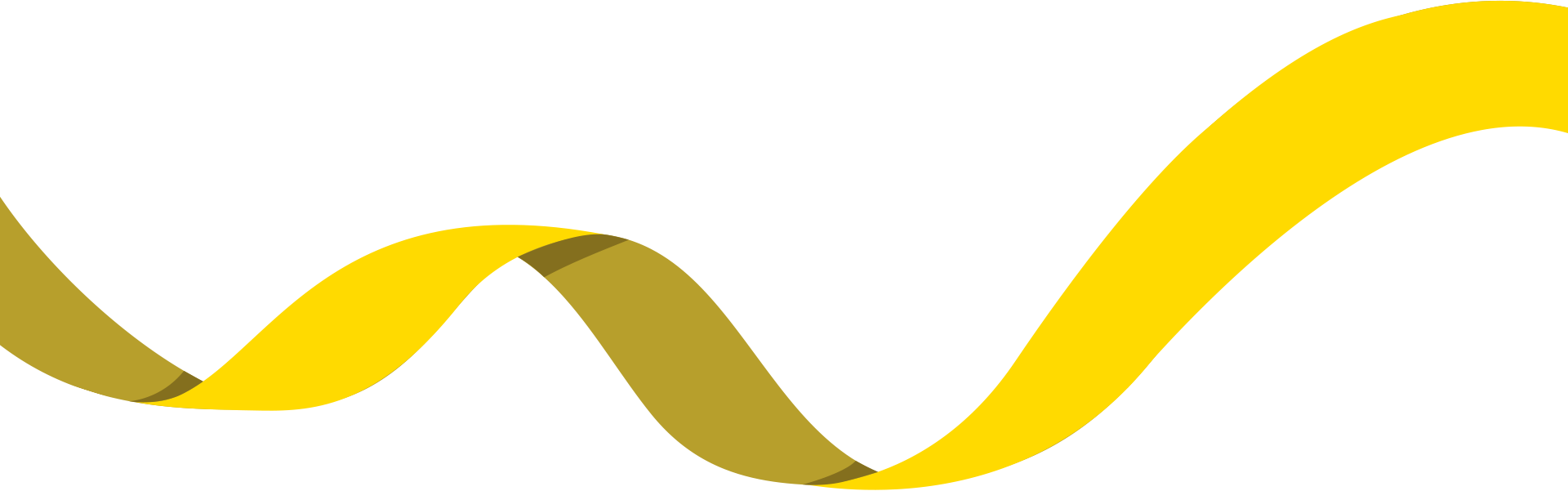 Clipart banner yellow ribbon. Golden r bbon transprent