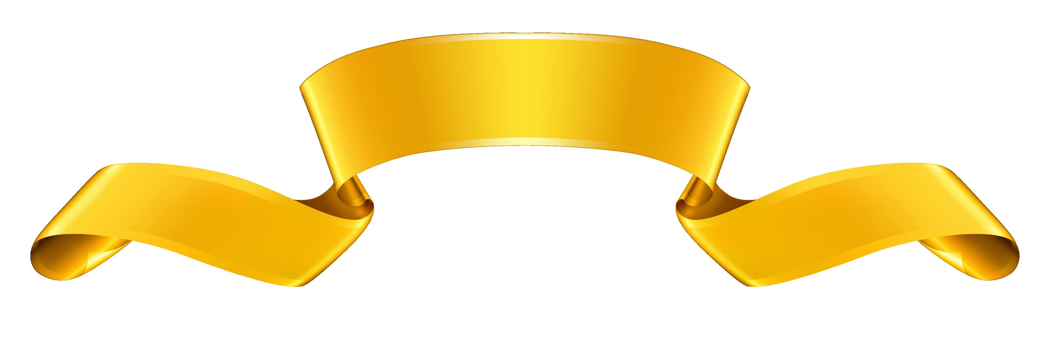 Banner clip art png. Diploma clipart gold ribbon