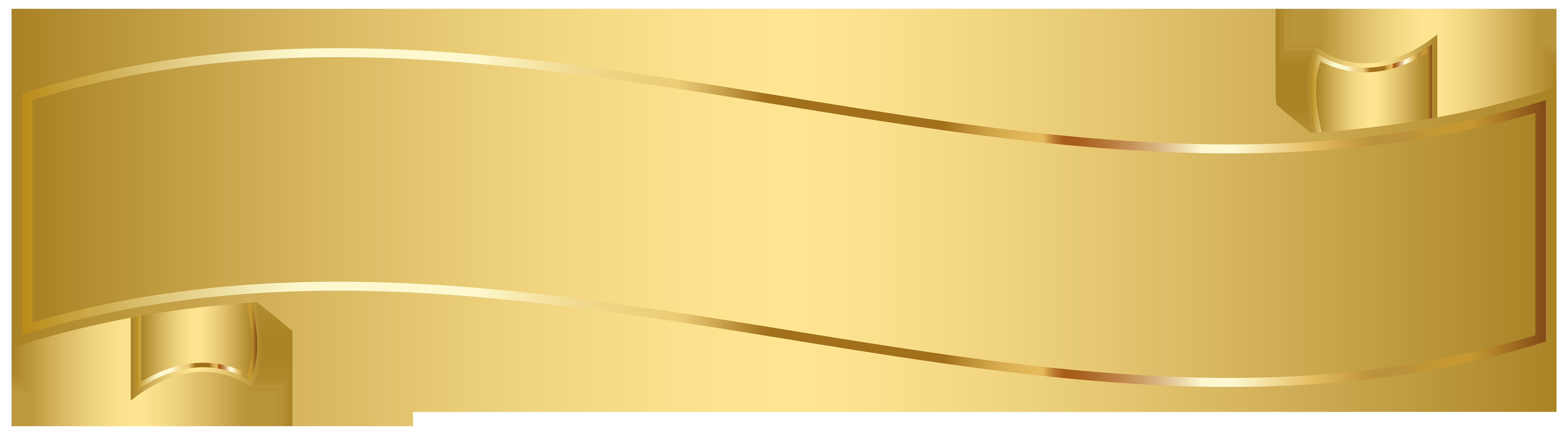 Scroll clipart gold. Banner clip art png