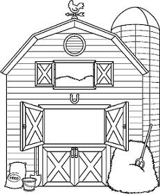 Free. Clipart barn
