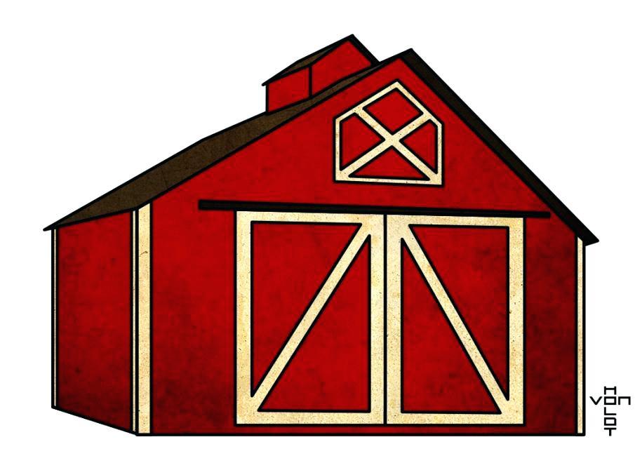 Clipart barn. Free images alternative design