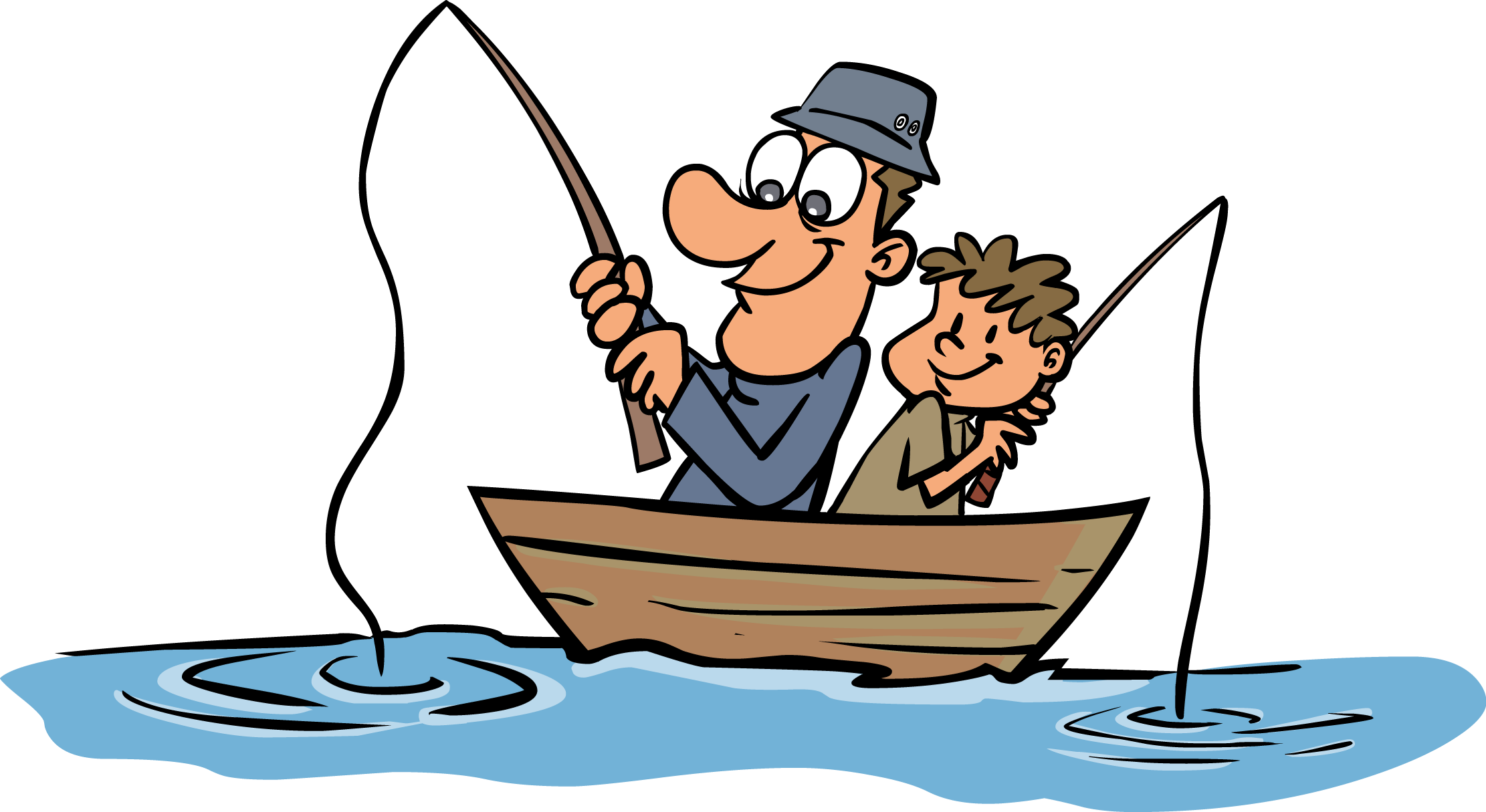 Hunting clipart fishing boat.  collection of fisherman