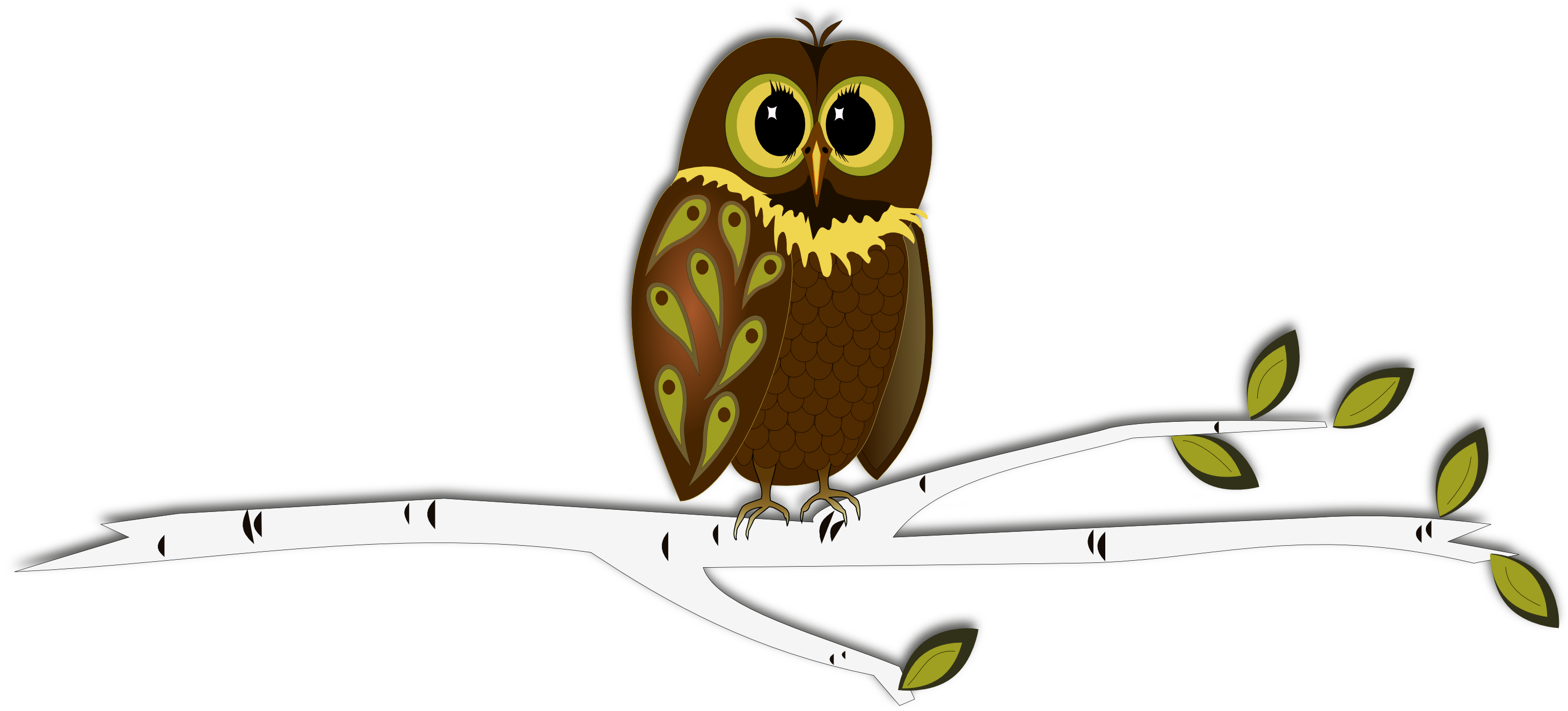 Thanks clipart owl. Inkscape into autumn free