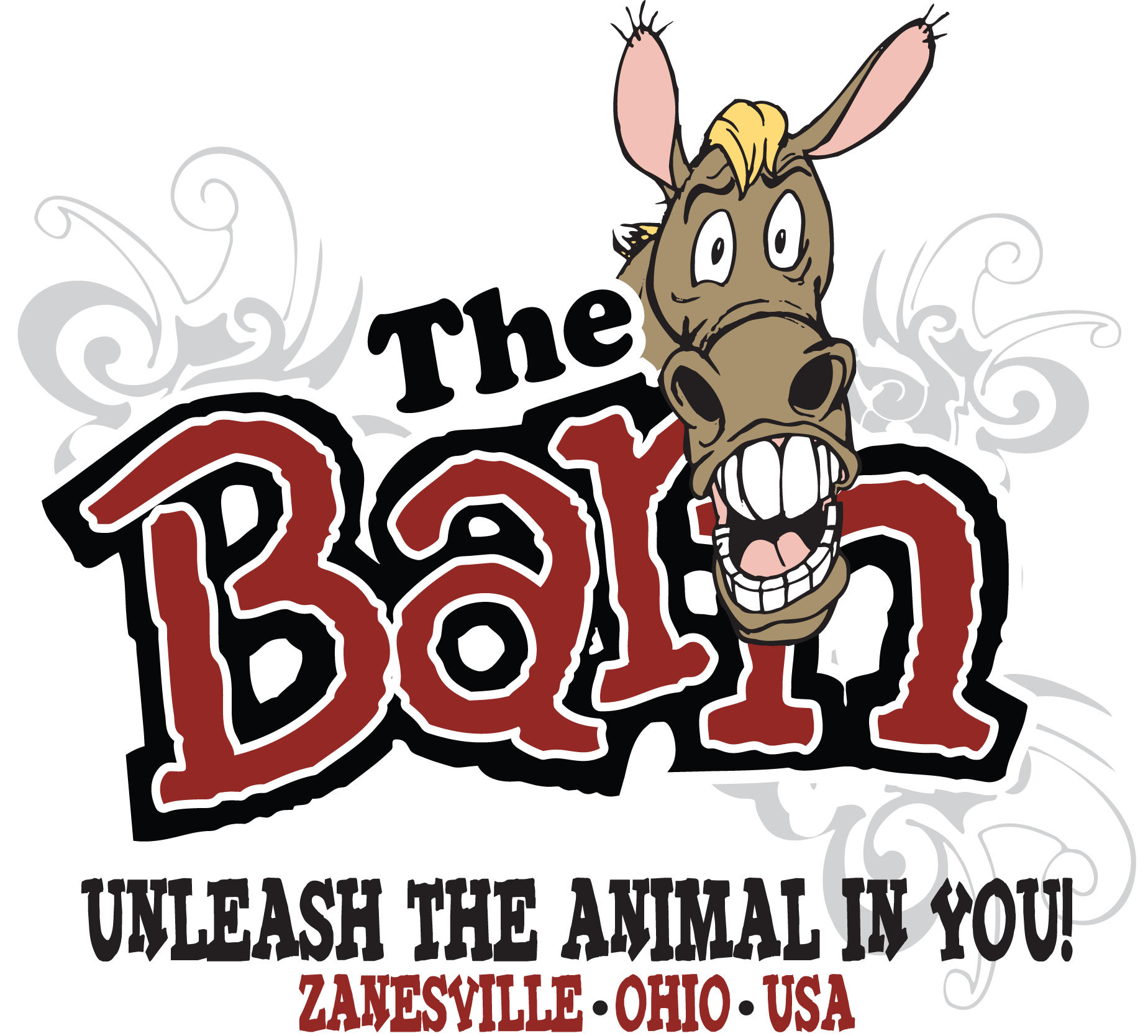 Mule clipart donkey mexican. Home the barn barnlogo