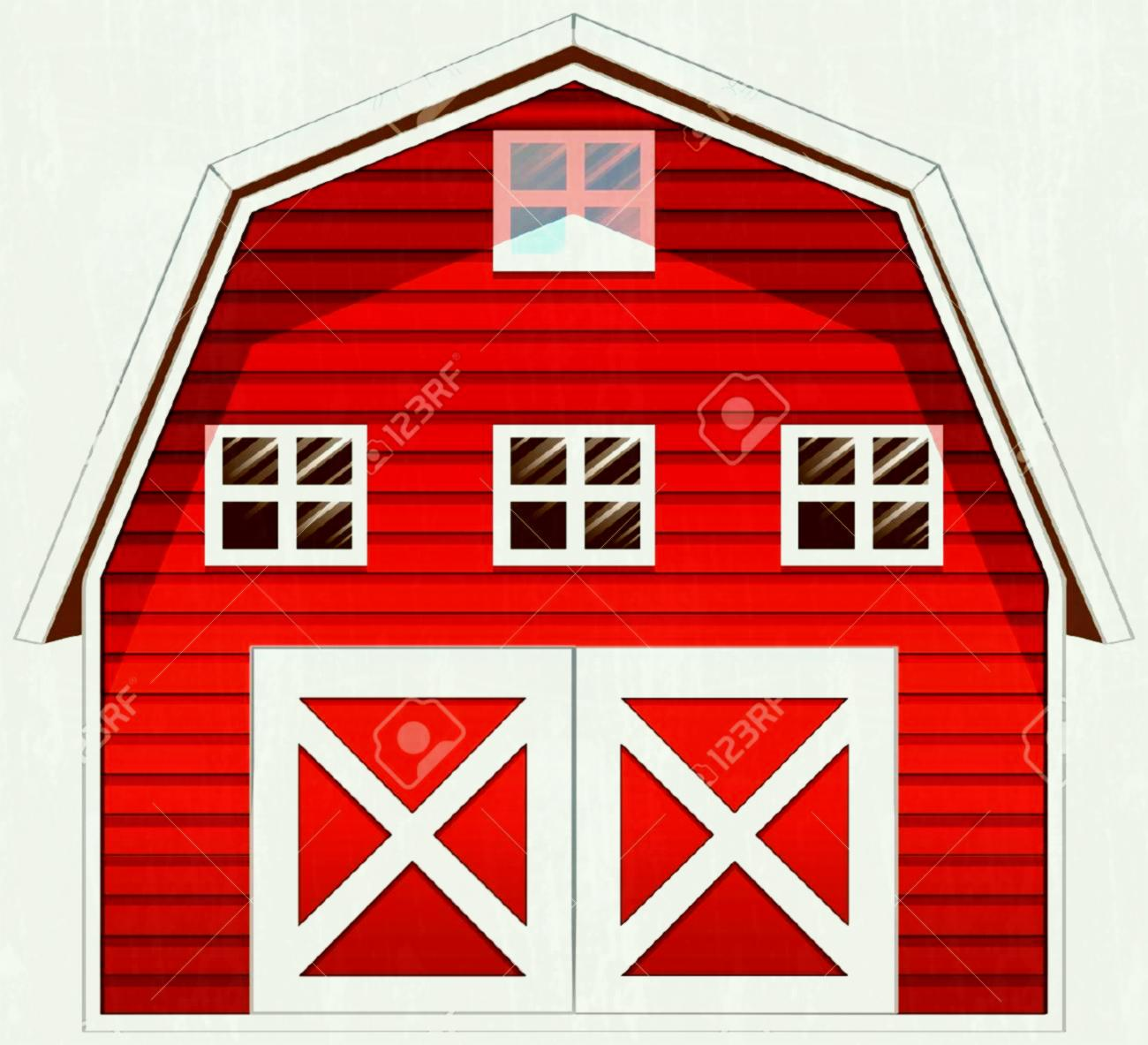 Station . Clipart barn barn door