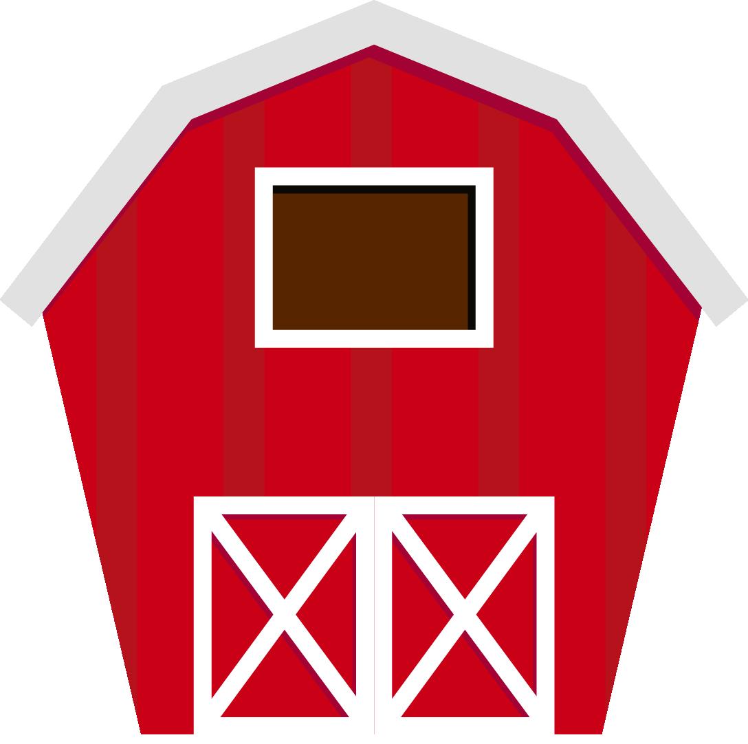 Clipart cow barn. Farm silhouette clip art